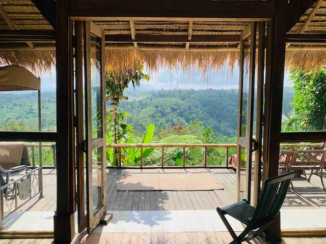 Rustic Mountain View Yoga & Artists Retreat ~ Bali