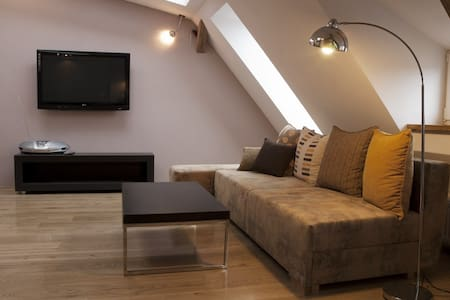 Cozy Apartment in the attic - heart of the city