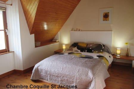 Chambre d'Hôtes dans une belle Chaumière. - Plomeur - Bed & Breakfast