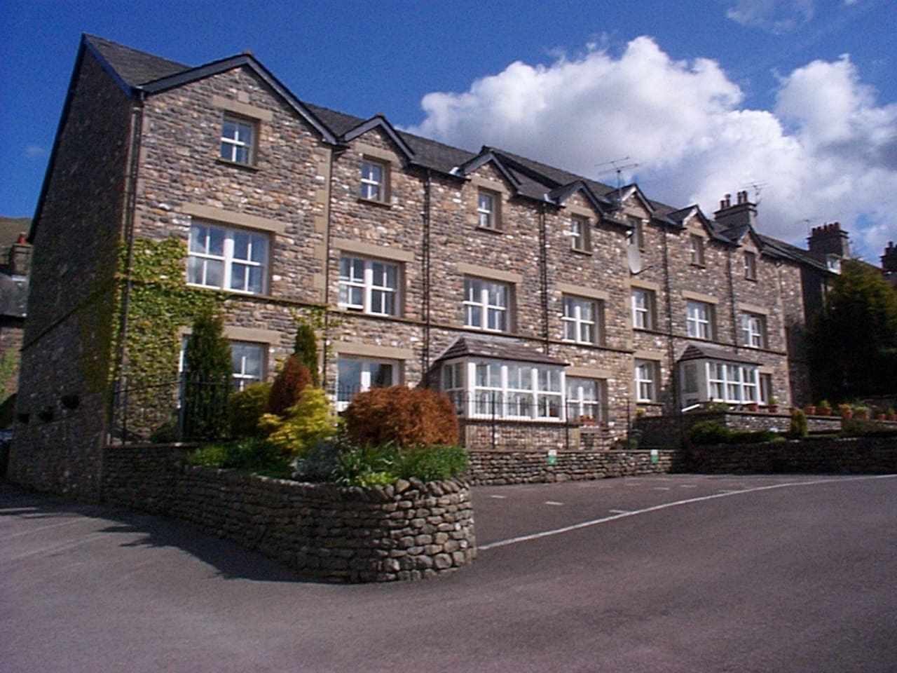 Howgills Apartments from outside