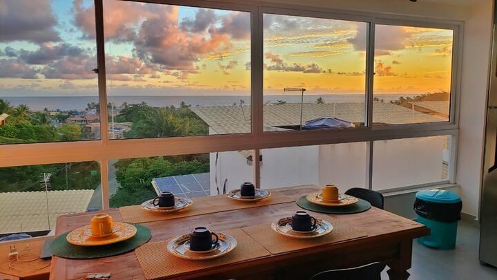 Casa com vista deslumbrante na segunda praia!!