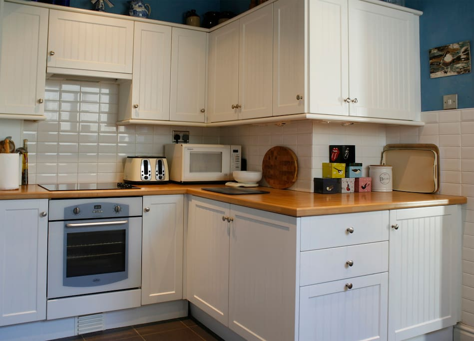 Our kitchen - you may use our cooking facilities, if you wish.
