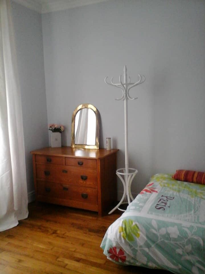 Chambre au calme proche de Paris