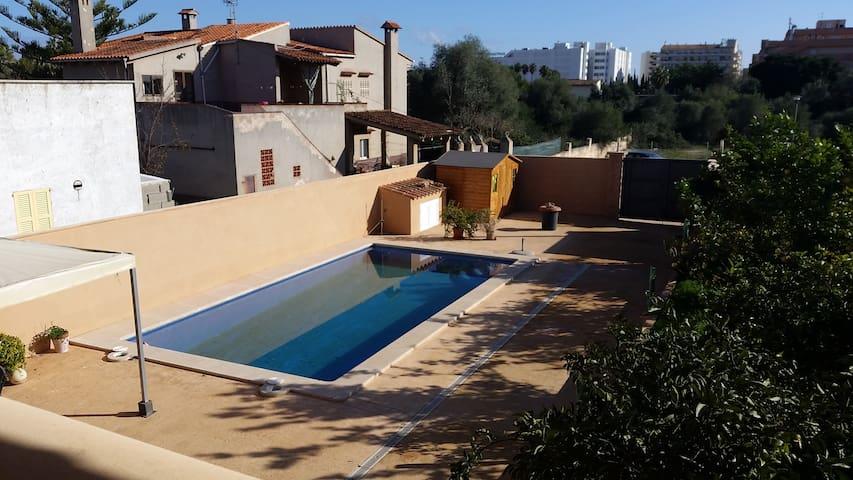 Apartamento con piscina en Sa Coma - S'Illot - Appartement