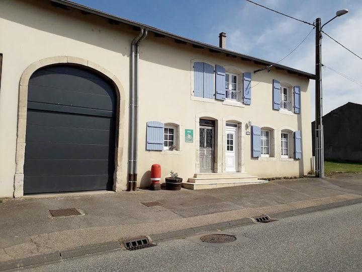 Gerbécourt (Chateau-Salins): maison individuelle