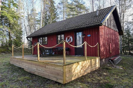 Holiday apartment with 2 bedrooms on 51m² in Länghem