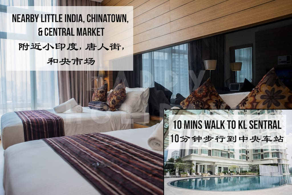 HIGHLIGHT: Hotel-style unit with strategic location nearby public transportation and iconic landmarks. Book now!