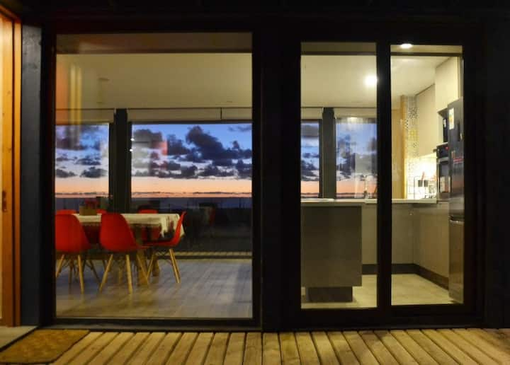 Increible casa de playa en Huentelauquen !!