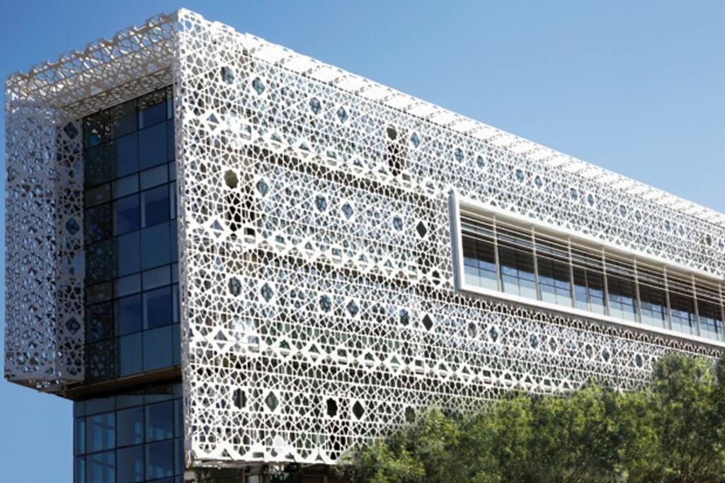 centre arribat, bureaux et commerces Rabat agdal