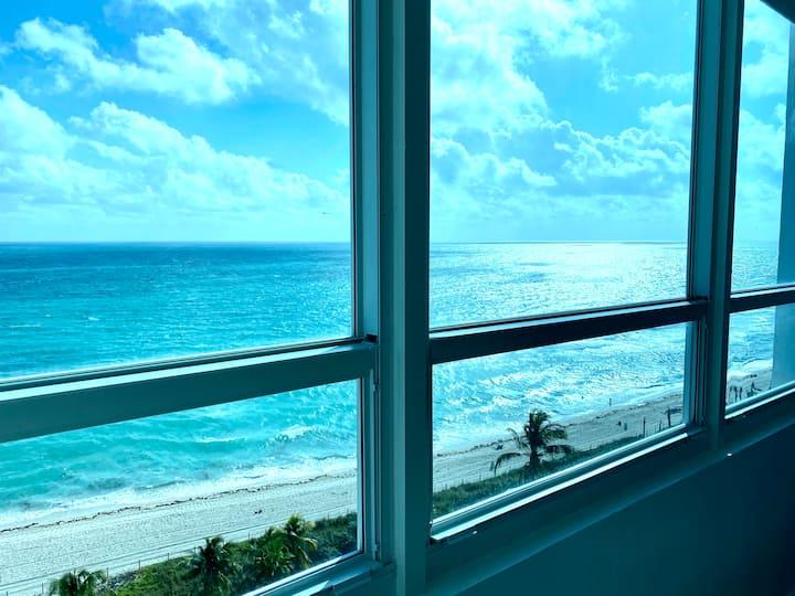Direct Ocean View FREE Parking WIFI Coffee Netflix