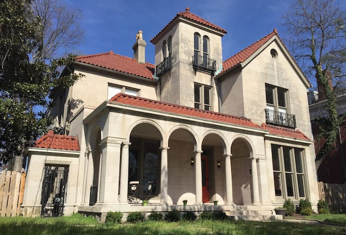 1067 Cherokee Road 5 Bd Italianate - Louisville - Hús