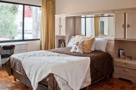 Lovely Private Room with TV & ensuite - Ciudad de México - Talo