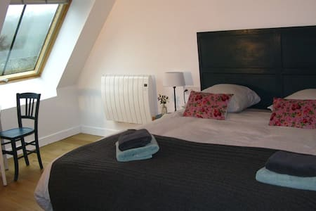 B&B La Ferme des Ruats - Chambre double - Bed & Breakfast