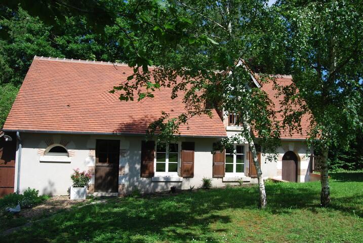 Petite maison solognote proche de Cheverny