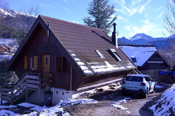 Cosy 2 bedrooms house with 1000m² garden  Vercors