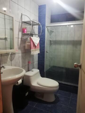 Baño privado , agua caliente