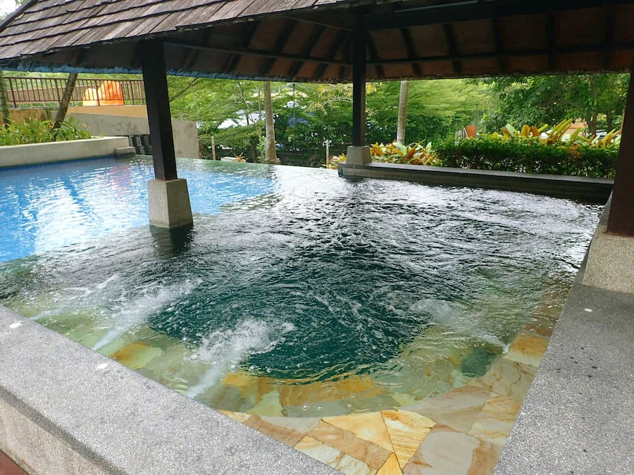 Jaccuzi - You will feel relax and all the burden gone.