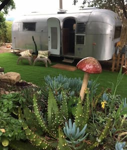 Vintage Airstream in Sintra