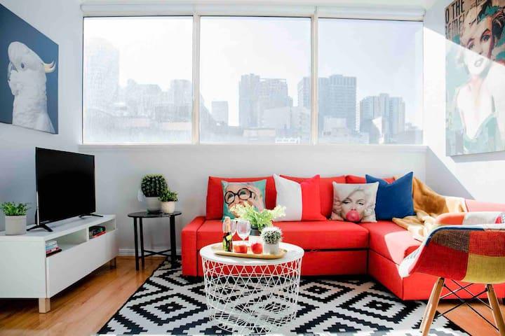 The Marilyn Home-Funky, Pop Art in Heart of Sydney