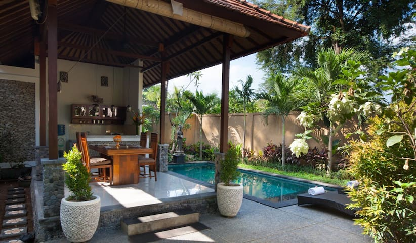 Villa with Private Pool near Ubud # 2 bed rooms - Gianyar  - Villa