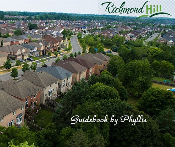 Guidebook for Richmond Hill by Phyllis