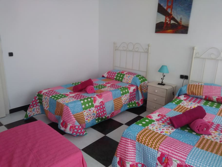 Dormitorio doble con supletoria