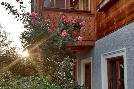 Trditional austrian Wooden-House-Apartment