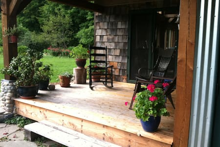 Rhubarbary B&B- Unique owner built timberframe - Harbor Springs - Bed & Breakfast