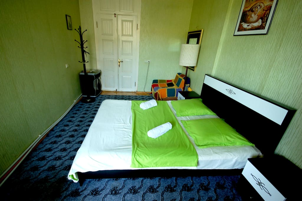 cozy and comfortable double beds