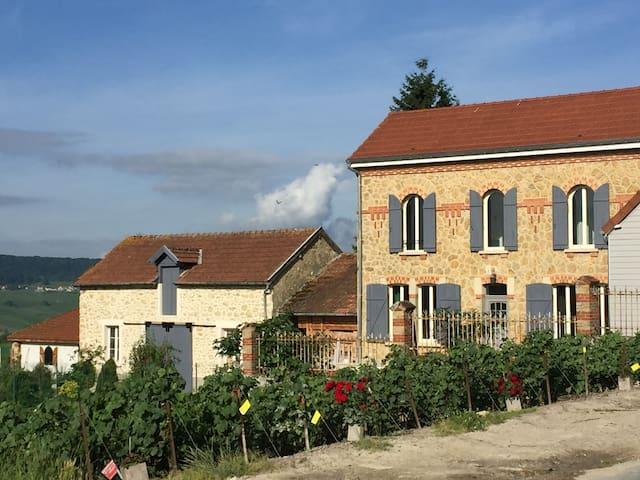 Maison Le Figuier dans village viticole