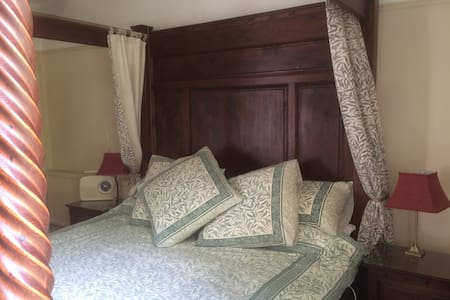 Clanville Manor:  Georgian Farmhouse relaxed B&B - South Somerset District - Bed & Breakfast