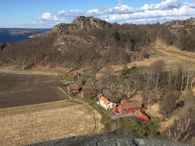 Farm in the Nature Reserve of Stigfjorden