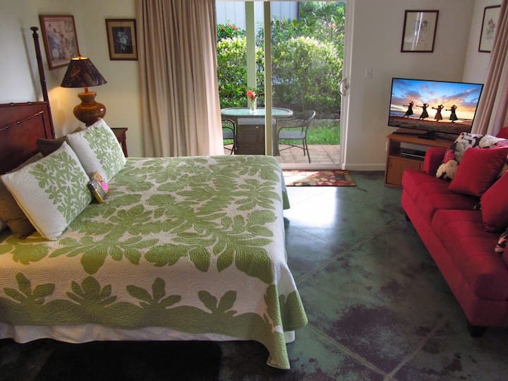 Seaside Studio Suite - Close to Poipu Beach Park