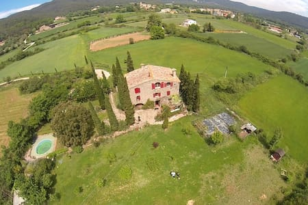 COUNTRY STONE HOUSE WITH SWIMMING POOL - Maià de Montcal