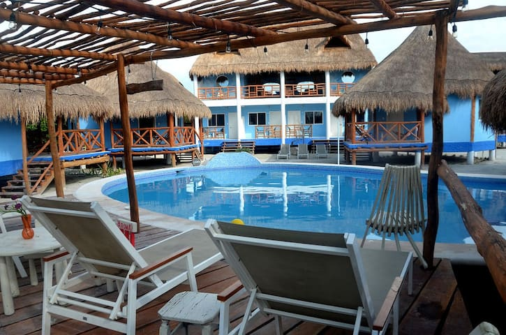 DOUBLE-DELUXE BUNGALOW - Holbox - Bungalow