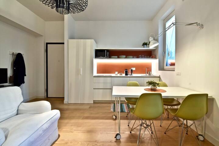 Brand new cozy 1 bedroom apt in the heart in Milan