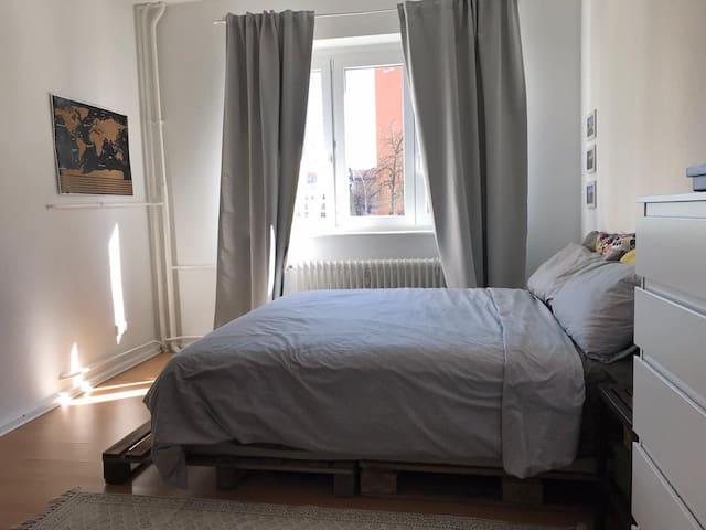 Cozy flat with balcony
