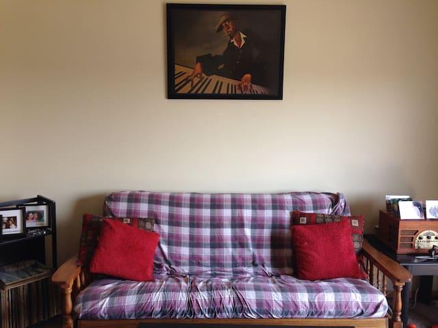 Cozy 2BR near NIU/Dekalb/Sycamore - Cortland - Appartement
