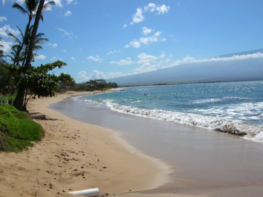 Crescent Shaped Beach from Maalaea to Kihei