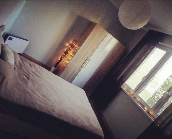 Cozy private room near the city center
