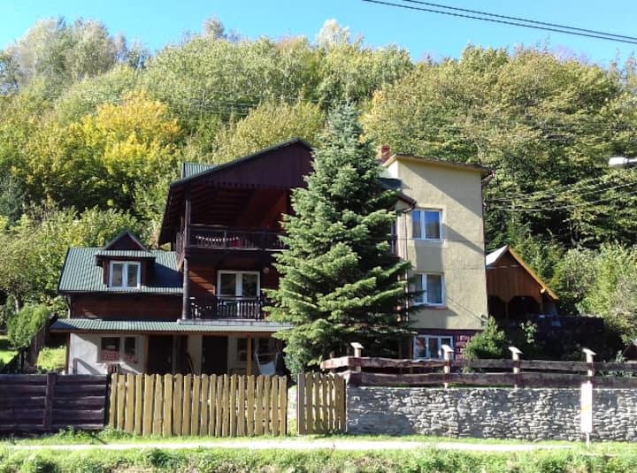 Willa Rytro. House in the Polish mountains.