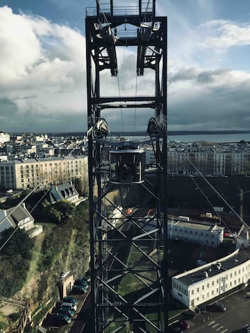Le téléphérique à Brest !
