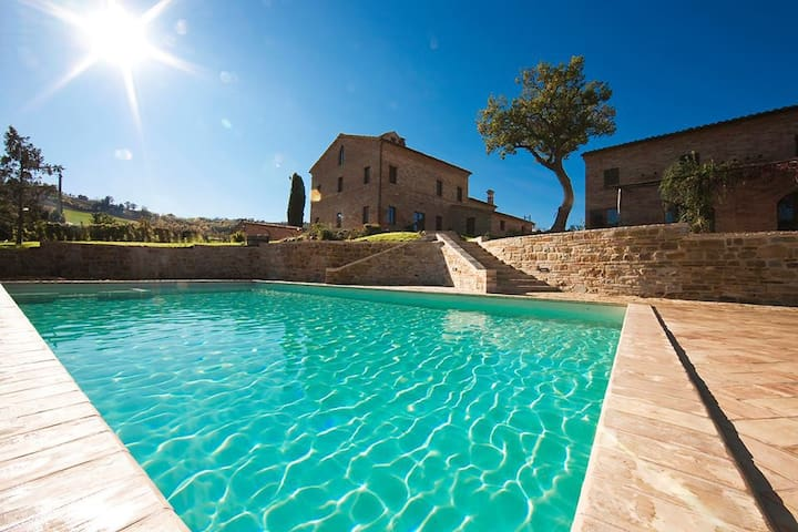 Villa Serena, with a completely private pool