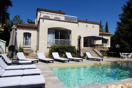 Unique,villa piscine proche arènes - Nîmes