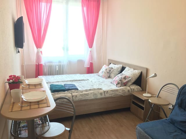 Comfortable room in a friendly setting in Budapest