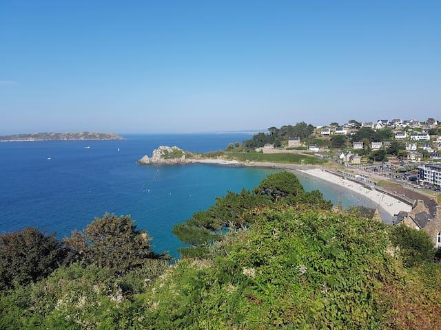 APPART sur la Côte de Granit Rose, à PERROS GUIREC