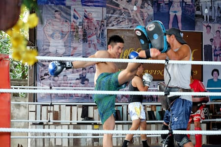Sor Vorapin Muay Thai Home  + ( Training &  Food )