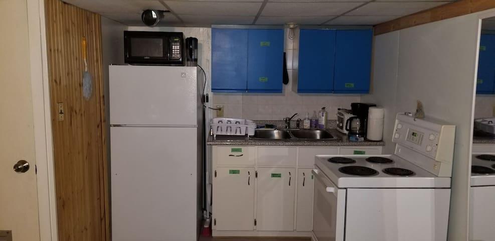 Basement Apartment w/ Kitchen & Private Entrance