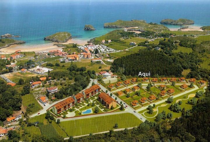 Chalet en urbanización privada cercano a la playa