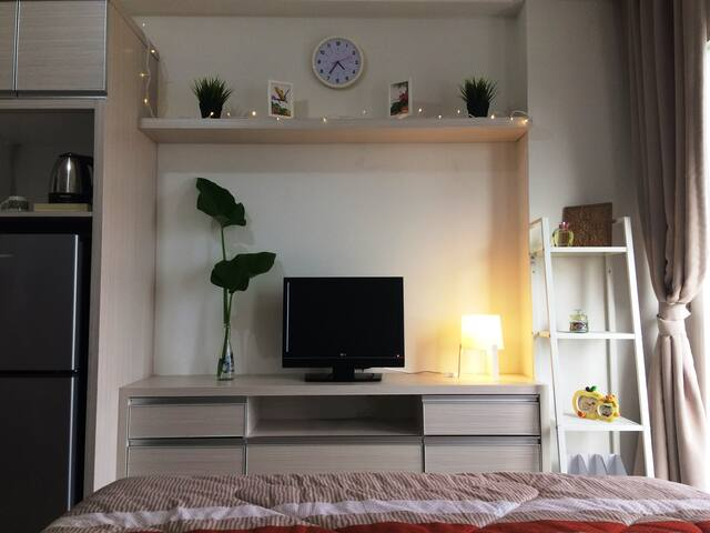Minimalist in design, satisfying complete facilities.
